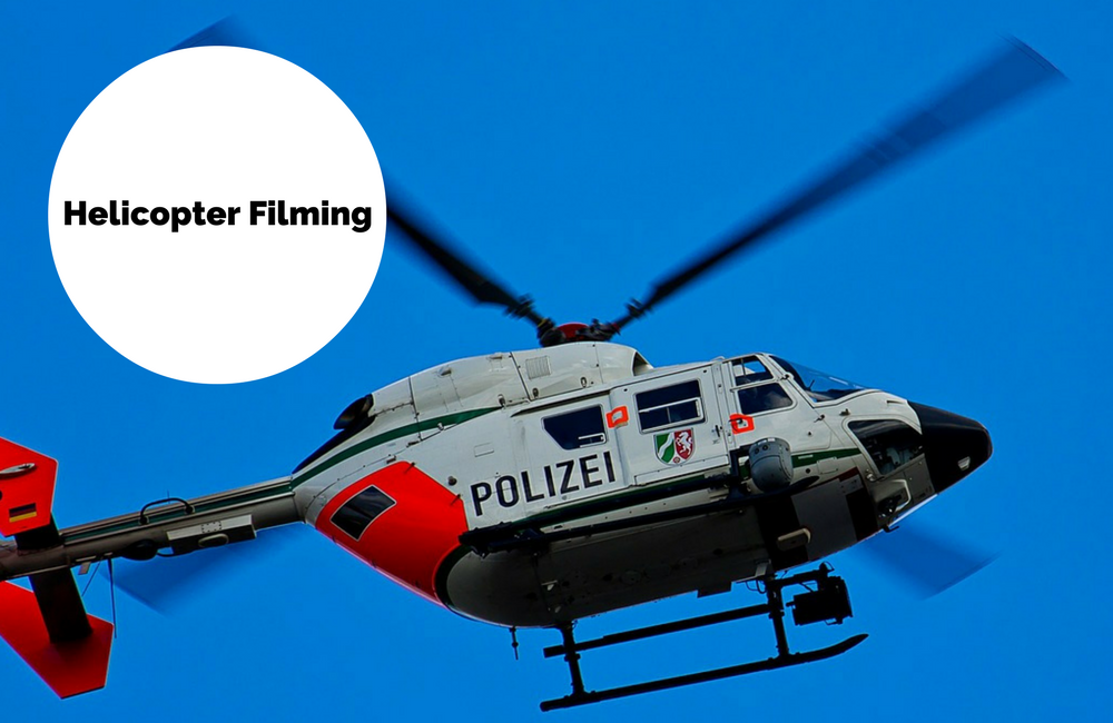 Helicopter Shot and Filming